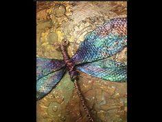 (5) Steampunk Dragonfly - YouTube