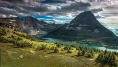 Hidden Lake by Arvind Nagaraj - Hidden Lake in Glacier National Park, Montana USA