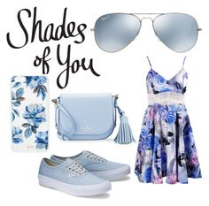 """""""Shades of You: Sunglass Hut Contest Entry"""" by dawnfallen on Polyvore featuring Ray-Ban, Kate Spade, Sonix and shadesofyou"""