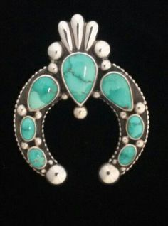 Naja pendant with carico lake turquoise. | Nada but Najas | Pinterest
