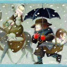 0781u - ferrándiz - ediciones subi - n.2088.2 - - Vendido en Venta Directa - 48813119 Anime, Diy, Drawings, Vintage Postcards, Christmas Cards, Christmas Crafts, Bricolage, Cartoon Movies, Do It Yourself