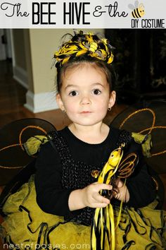 The BEEHIVE and the Bee – Kids Halloween Costume Ideas