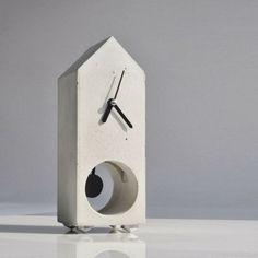 Ma maison au naturel: Fabriquer une horloge en béton