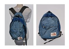 vintage backpack THE NORTH FACE back pack rucksack by andyhaul