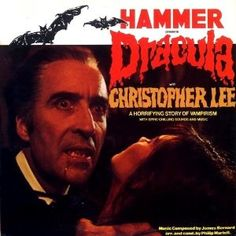 Film Music Site - Hammer Presents Dracula Soundtrack Hammer Horror Films, Hammer Films, Christoper Lee, Horror House, Classic Horror Movies, Famous Monsters, Horror Movie Posters, Classic Monsters, Vintage Horror