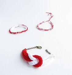 """Little Things Blogged: {Crochet """"Martis"""" Bracelets}"""