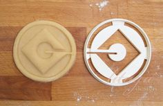 Despicable Me Gru's logo cookie cutter