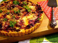 Kääpiölinnan köökissä: Watch the beet! - iltapalaksi ihana punajuuri-jauhelihapiirakka