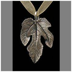 Fig Leaf necklace