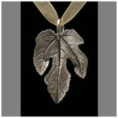 Fig Leaf necklace