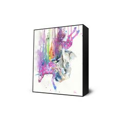 Unicorn Falling Mini Art Block design inspiration on Fab.