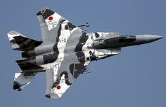 Japanese F-15 with a cool paint job.
