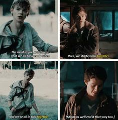 New Quotes Music Songs Feelings Ideas Maze Runner Quotes, Maze Runner Funny, Maze Runner Trilogy, Maze Runner Cast, Maze Runner The Scorch, Maze Runner Thomas, Maze Runner Movie, Maze Runner Series, Minho