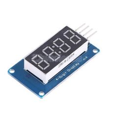 Led 4 Digit Module Adjustable Brightness Board Clock Display For Arduino \ No China