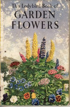 The Ladybird Book of Garden Flowers (1960), by Brian Vesey-Fitzgerald, illustrator: John Leigh-Pemberton.