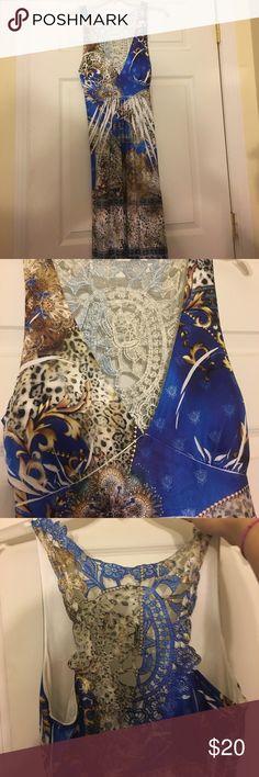 Summer dress Really soft, cotton, light, good to wear anywhere, sequins, bra cups built in belisusa Dresses Mini