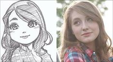 100  Examples of Cute Anime Sketches on Request by Rober Dejesus