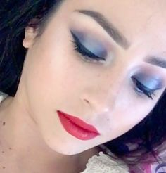 Fourth of July makeup 🇺🇸