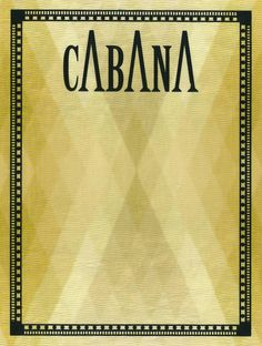 Cabana Issue Four with Cover in Dedar Fabric 2