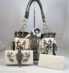 DG Sunglasses+Western Montana West concealed handgun handbag/purse+wallet $150