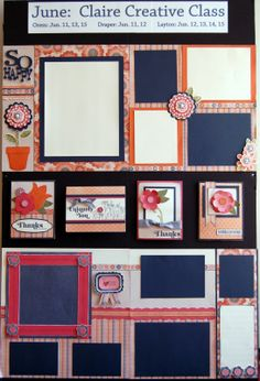 layouts and cards by Diana Veenendaal using CTMH Claire paper