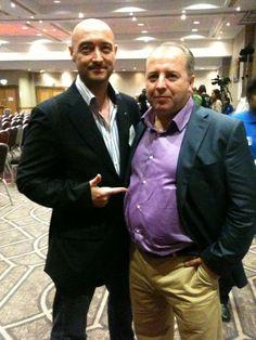 David Tillyer with Glen Armstrong David