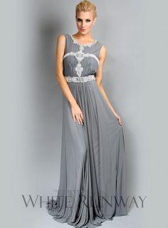 Monica Dress. A majestic sleeveless dress with a beautiful embellished bodice to make every woman feel like royalty.