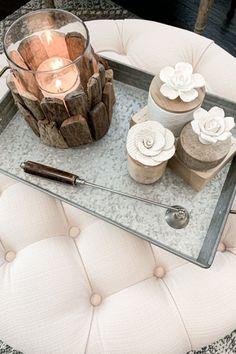 Small Ceramic Flower Wicking Diffuser via BHG Live Better influencer Whimsy Girl Design. #diffuser #wickingdiffuser #diffuserideas #fragrance #fragranceideas #essentialoils #homedecor #livingroom #familyroom #den #bedroom