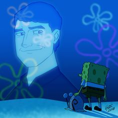 Stephen Hillenburg by jonathanserrot on After SpongeBob's beloved pet snail Gary is snail-napped, he and Patrick embark on an epic adventure to The Lost City of Atlantic City to bring Gary home.The SpongeBob Movie: Sponge on the Run Spongebob Squarepants Tv Show, Spongebob Cartoon, Spongebob Drawings, Spongebob Memes, Spongebob Background, Stephen Hillenburg, Pet Snails, Fanart, Squidward Tentacles