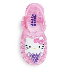 Hello Kitty Toddler Girls' Jelly Sandals - Pink L