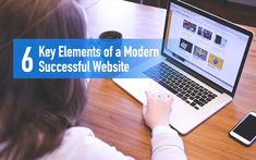 6 Key Elements of a Modern Successful Website JUST™ Creative Small Business Marketing, Online Business, Modern Website, Digital Marketing, Competition, Web Design, Success, Key, Reading