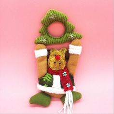 Christmas New year door pendent Navidad Christmas Decoration Christmas party toy gift for kids home decor LW0446 $2.78