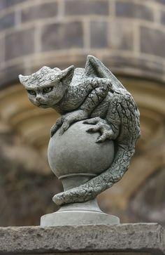 elfentau: ~* Unique gargoyle statuary *~