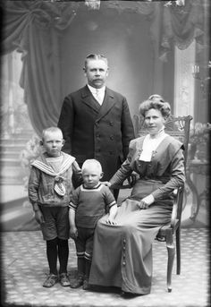 Digitalt Museum - Gottfrid Lindberg, Bagare Vänersborg 1914
