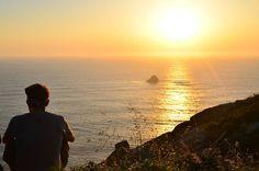 Atardeceres en el fin del mundo      #Galicia #camiñodosfaros #costadamorte