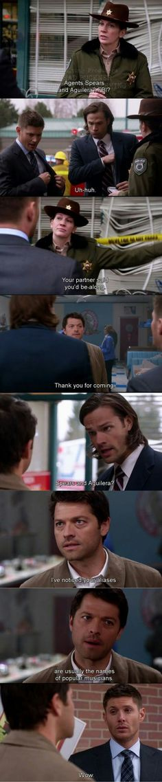 i just laughed so hard...cas, cas..you have not just got it quite right here....