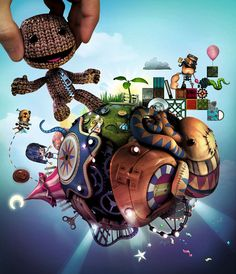 Little Big Planet looks like an awesome rpg for little kids. Too bad it's only and we have an xbox. Video Game Art, Video Games, Planet Love, Small Planet, Virtual Insanity, Princess Games, Little Big Planet, Plus Games, Got Game