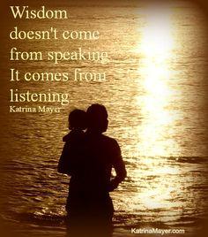 I'm listening...