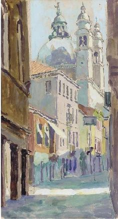 View Venice, early morning By Duncan Grant; pen, watercolour and bodycolour; x cm. Access more artwork lots and estimated & realized auction prices on MutualArt. Duncan Grant, Art Grants, Vanessa Bell, Bloomsbury Group, My Art Studio, Studio Ideas, Diy Arts And Crafts, Old Art, Art For Sale