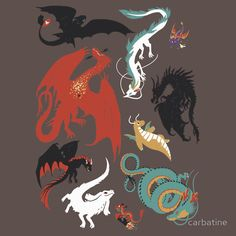 A Flight with Dragons