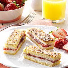 French Toast Fingers Recipe #breakfast #food #recipe