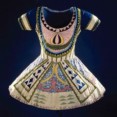 A Ballet Russe costume that has inspired me for my current collection, along with picasso paintings!