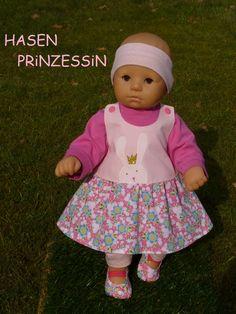 Kleidung & Accessoires Puppenkleidung Set Gr 41-43 cm Dawanda Babypuppen & Zubehör