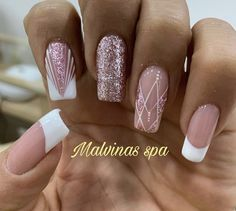 Manicure And Pedicure, Gel Nails, Home Nail Salon, Fancy Nails, Winter Nails, Nail Inspo, Beauty Hacks, Nail Designs, Hair Beauty