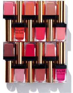 YSL Baby Doll Kiss & Blush Collection for Spring 2014. I think I want #8 and maybe the dark fuchsia color