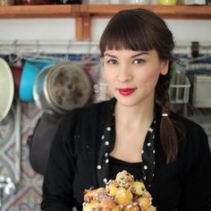 Rachel Khoo from The Little Paris Kitchen is a polka dot fan - love her style!