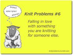 knit problems