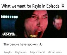 more reylo!!!