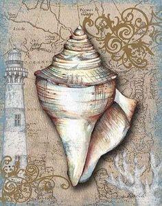 CUADROSTOCK.COM - Cuadro Nautical Treasures I / Donna Knold