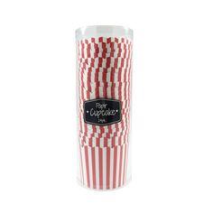 Cupcakeformer 24 pk røde striper   Kremmerhuset  #Kremmerhuset #Interior #Inspiration Travel Mug, Cupcake, Mugs, Tableware, Inspiration, Biblical Inspiration, Dinnerware, Tumblers, Dishes